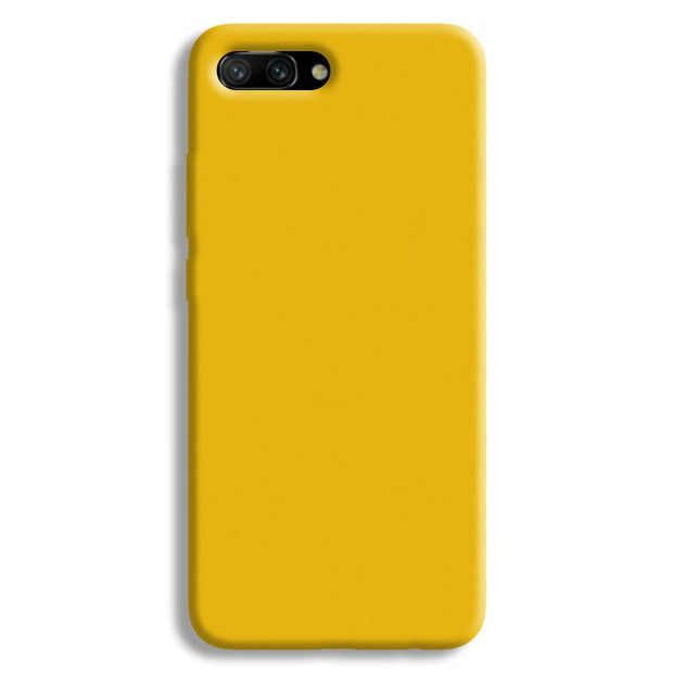 Yellow Crome Honor 10 Case