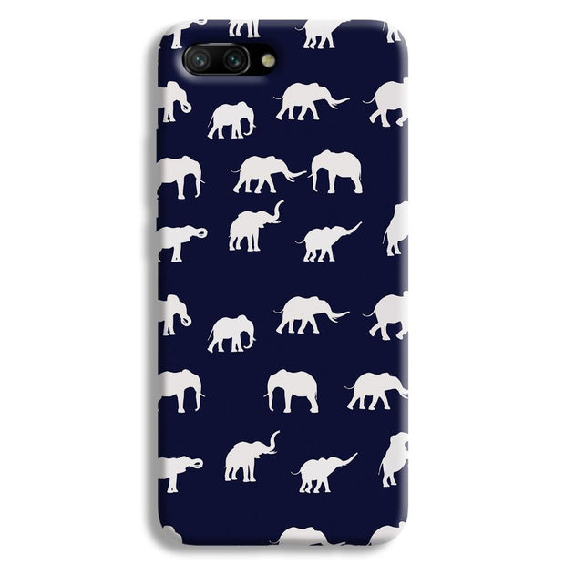 Elephant Pattern Honor 10 Case