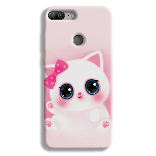 Pink Cat Honor 9 Lite Case