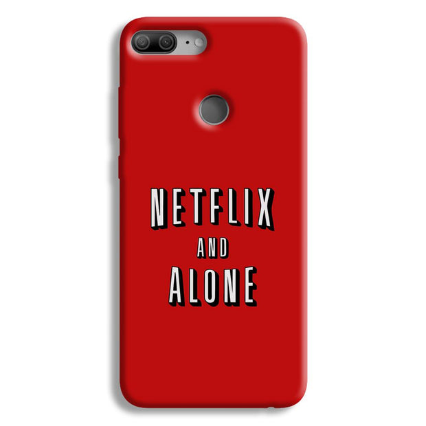 Netflix and Alone Honor 9 Lite Case