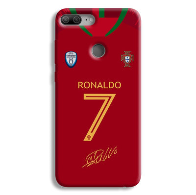 Ronaldo Jersy Honor 9 Lite Case