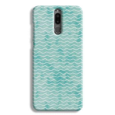 Wavy Blue Pattern Honor 9i Case
