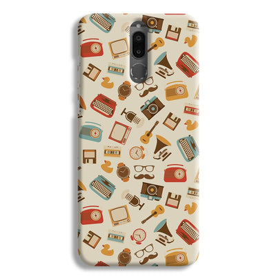 Vintage Elements Pattern Honor 9i Case