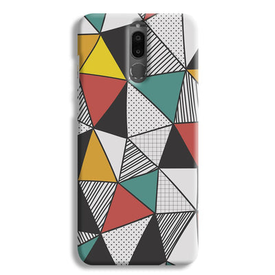 Triangle Abstract Pattern Honor 9i Case