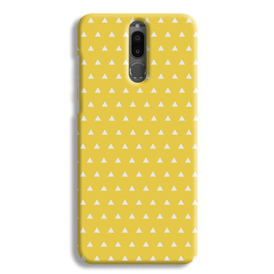 White Triangle Honor 9i Case