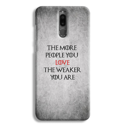The More People Love You Honor 9i Case