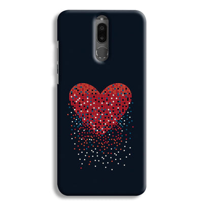 Sparkling Heart Honor 9i Case