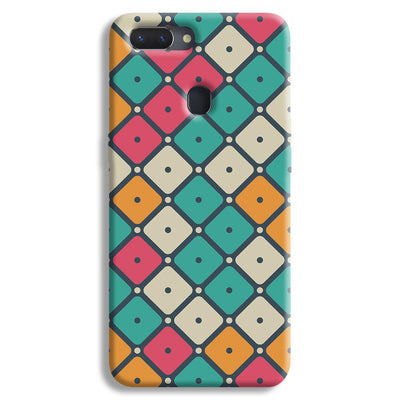Colorful Tiles with Dot Realme 2 Case
