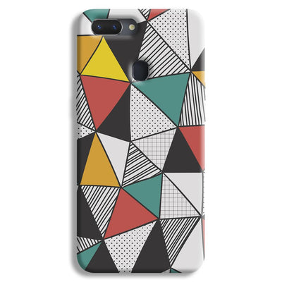 Triangle Abstract Pattern Realme 2 Case