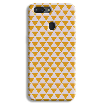 Yellow Triangle Realme 2 Case
