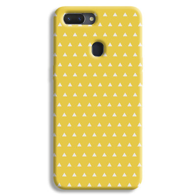 White Triangle Realme 2 Case