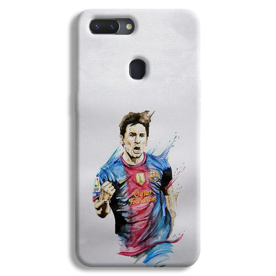Messi White Realme 2 Case