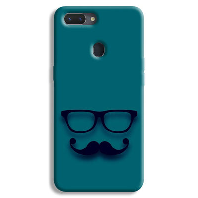 Cute mustache Blue Realme 2 Case
