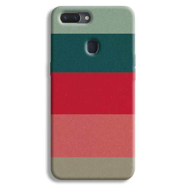 Colored Strips Realme 2 Case