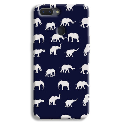 Elephant Pattern Realme 2 Case
