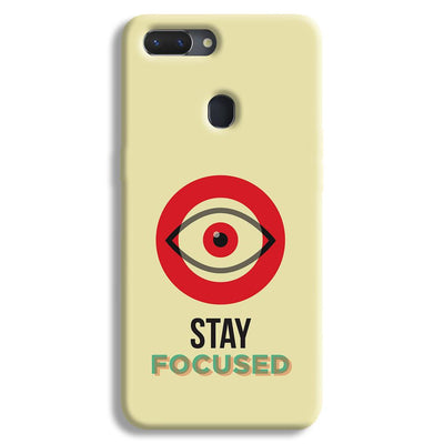 Stay Focussed Realme 2 Case