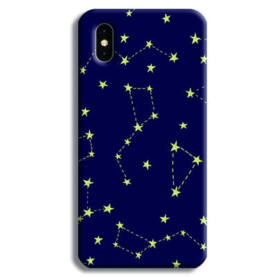 Constellation Blue iPhone X Case
