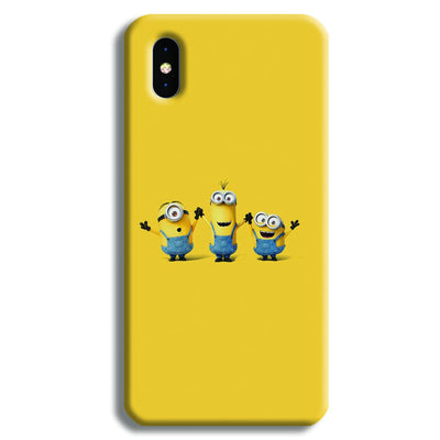 Three Minions iPhone XS Case