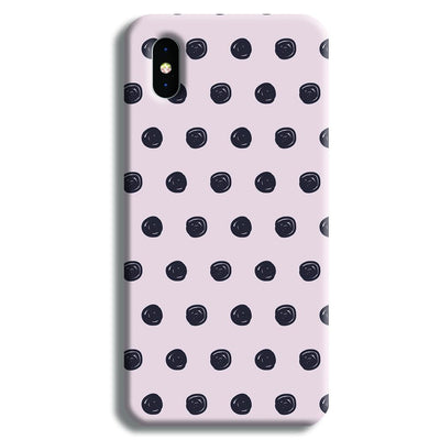 Dalmatian Pattern iPhone X Case