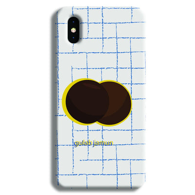 Gulab Jamun iPhone XS Case