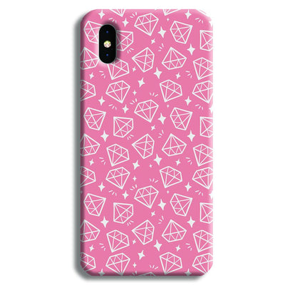 Diomonds Pattern iPhone X Case
