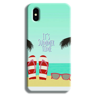 It's Summer Time iPhone X Case