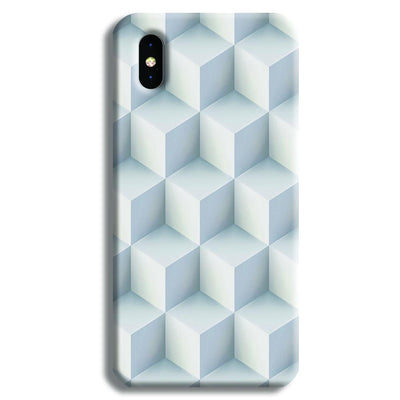 3D Cubes iPhone X Case