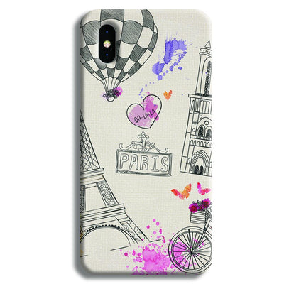 Paris iPhone X Case