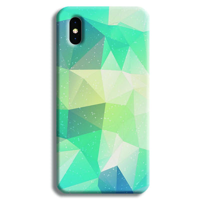 Tiles Mint iPhone X Case