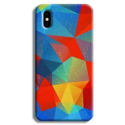 Mint Color Tiles iPhone X Case