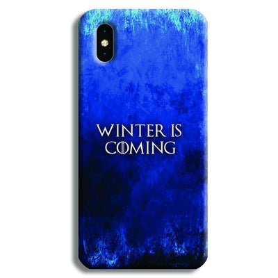 Winter is Coming iPhone XS Case