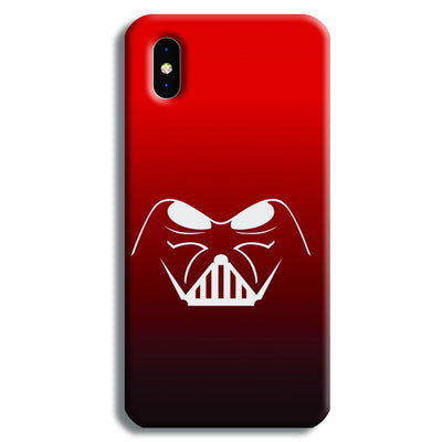 darth vader-Red iPhone XS Case