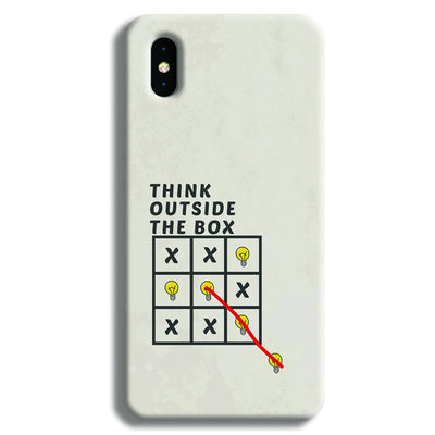 Think Outside the Box iPhone XS Case