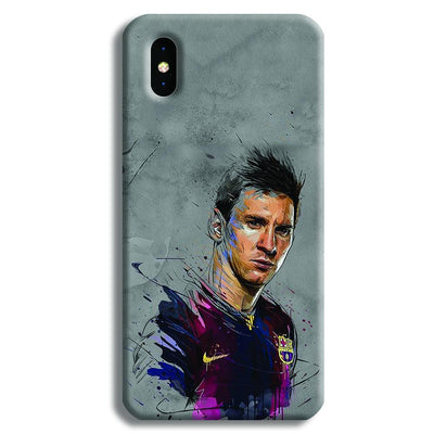 Messi Grey iPhone XS Case