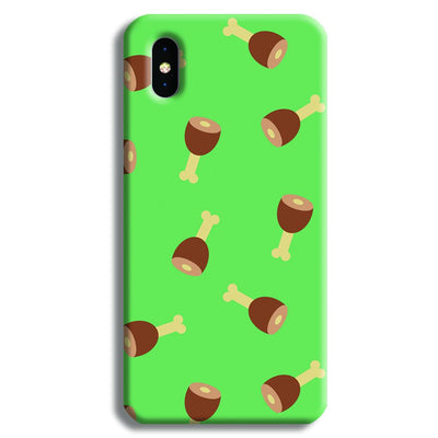 Leg Pieces iPhone X Case