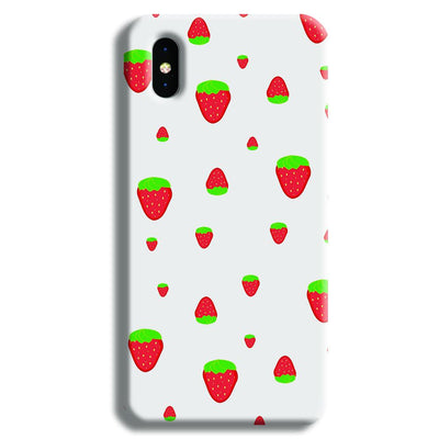 Strawberry iPhone X Case
