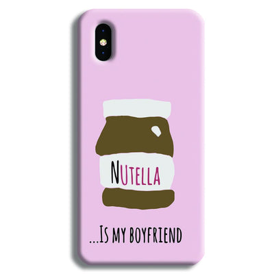 Nutella iPhone X Case