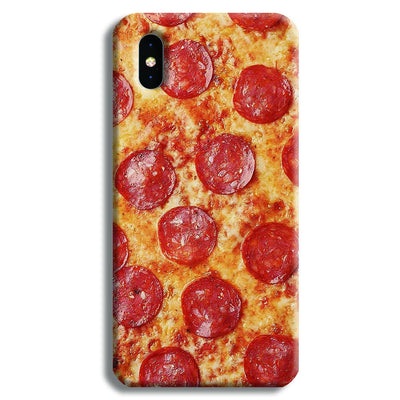 Pepperoni Pizza iPhone X Case