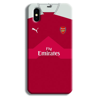 Arsenal F.C. Jersey iPhone XS Case