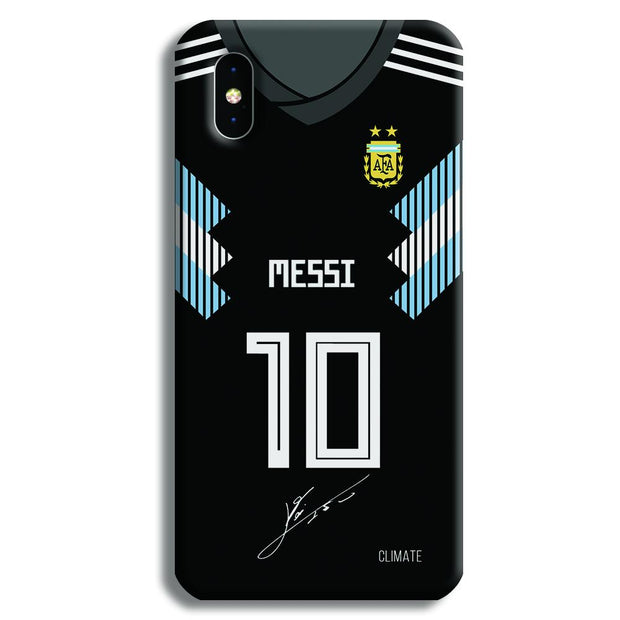 Messi (Argentina) Jersey iPhone X Case