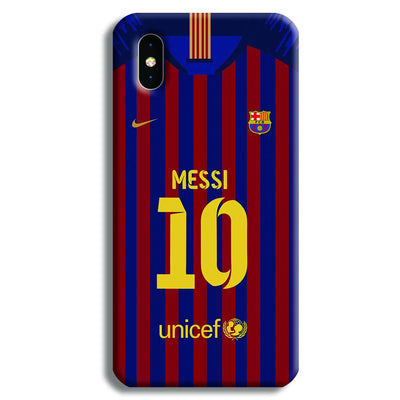 Messi (FC Barcelona) Jersey iPhone XS Case