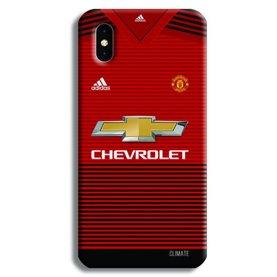 Manchester United Jersey iPhone XS Case