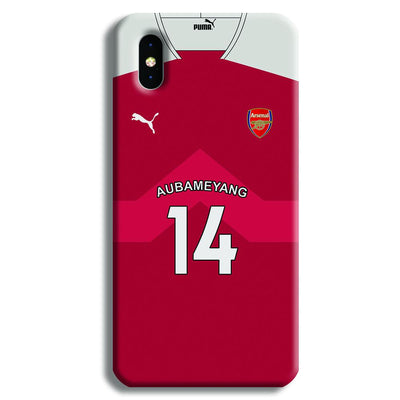 Aubameyang Jersey iPhone X Case