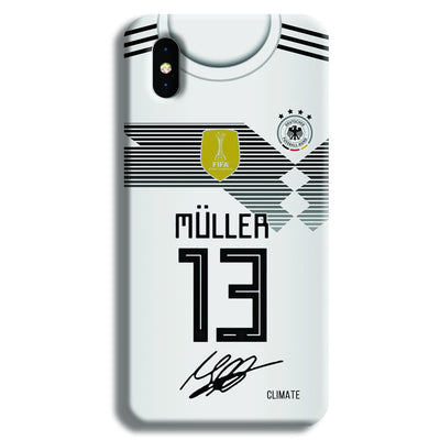Muller Jersey iPhone XS Case