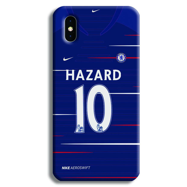 Hazard Jersey iPhone XS Case