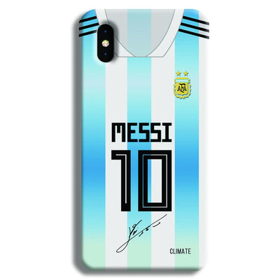 Messi Jersey iPhone XS Case