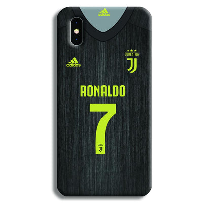 Ronaldo (Juventus) Jersey iPhone XS Case