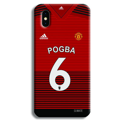 Pogba Jersey iPhone XS Case