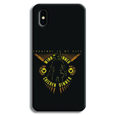 Pubg Playerunknowns Battlegrounds iPhone XS Case