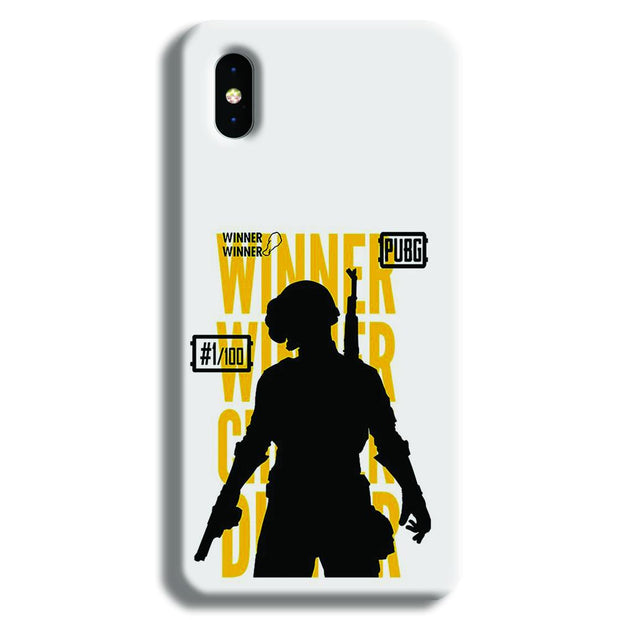 Pubg Winner Winner iPhone XS Case